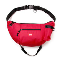 HT-G177001 / BOAT SHOULDER BAG - RED