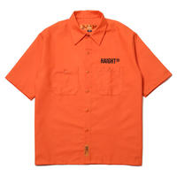 HT-W240001 / BOX SHAPE WORK SHIRT - ORANGE