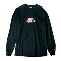 HT-W188003 / HAIGHT×CLEOFUS L/S Tee - BLACK