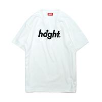 HT-W171002 / ROUND LOGO S/S TEE - WHITE