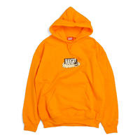 HT-W188001 / HAIGHT×CLEOFUS HOODIE - NEON ORANGE
