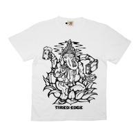 ガネリーマンTシャツ [WHITE]