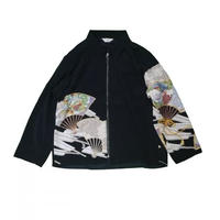 JieDa REMAKE KIMONO ZIP UP JACKET #6 Jie-RE-JK02