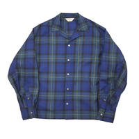 JieDa TARTAN CHECK OPEN COLLAR SHIRT Jie-20W-SH01-B