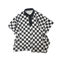 JieDa CHECKERED RUGBY SHIRT (NAT) Jie-20S-CT08