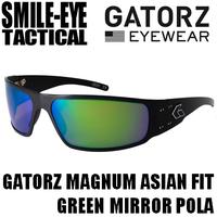 GATORZ MAGNUM AF Black Frame / Green Mirror Polarized Lenses