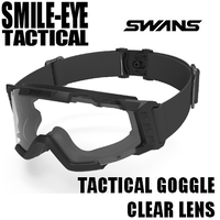 SWANS TACTICAL GOGGLE CLEAR