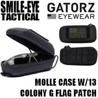 MOLLE CASE W/13 COLONY G FLAG PATCH   モールケース 星条旗Gフラッグ刺繍パッチ付