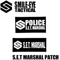 S.E.T MARSHAL PATCH