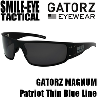 GATORZ MAGNUM Thin Blue Line/ Grey Smoke Lenses