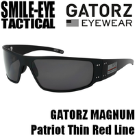 GATORZ MAGNUM Thin Red Line/ Grey Smoke Lenses