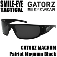 GATORZ MAGNUM Patriot Magnum Black / Grey Smoke Lenses