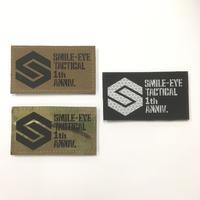 SMILE-EYE TACTICAL 1周年記念パッチ【予約限定販売】【予約受付6月末迄】
