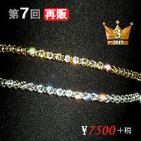 アンクレット【スワロフスキー】新Ver☆DIVINEオリジナル