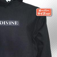 パーカーver2■BLACK■刺繍 Star★D_BOX【black/white】BW