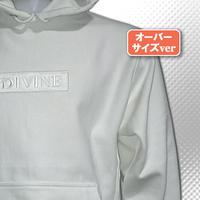 パーカーver2□White□刺繍 Star☆D_BOX【white/white】WW