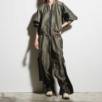 DK19-07-P01/BONOTTO Linen AC Cloth Cargo Pants/2COLORS