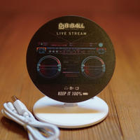 """""""KEEP IT 100%"""" Qi WIRELESS BATTERY CHARGER"""