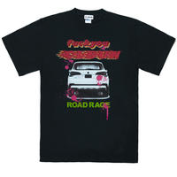ROAD RAGE Tee Shirt/ BLK