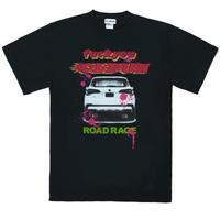 ROAD RAGE Tee Shirt/ BLK