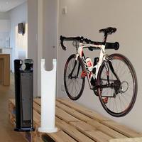 360°回転式スタイリッシュ壁掛け自転車ラック