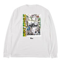 【現品のみ】MOMENTS 2013 + BEAT JUNGLE LONG TEE -White-