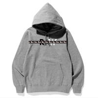 "【DEADSTOCK】""RAW"" HOODIE SWEAT -Gray / サイズ2XL-"