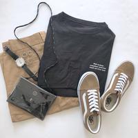 [予約販売]ミニレタリングルーズTシャツ20(4色)
