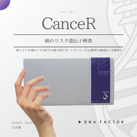 癌のリスク遺伝子検査/CanceR/キャンサー/全14部位を分析