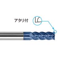 株洲工具 超硬スクエアエンドミル 4枚刃 φ3~6