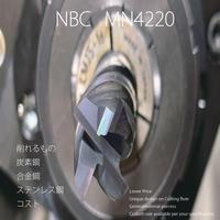 MN4220 超硬ローコストエンドミル 4枚刃 φ4