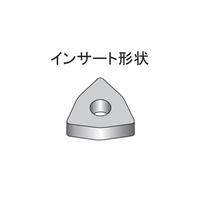 株洲工具 鋼/鋳物用 中切削用チップ WNMG0804タイプ