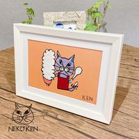 NEKO KENアートフレーム おかあさんネコ ※数量限定 2101730030454