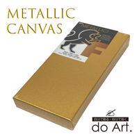 メタリック3Dキャンバス・ゴールド6×12インチ 081702059206
