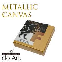 メタリック3Dキャンバス・ゴールド6×6インチ 081702059190