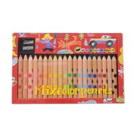 ふつうに描いても、楽しい絵になる。ミックス色鉛筆(MIX colorpencils)20色 4901480276885