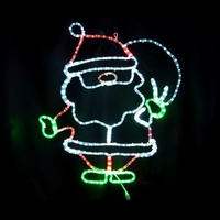 LED イルミネーション ディスプレイ 飾り 照明 ライティング クリスマス プレゼントサンタ【 L2DM275 】CR-70