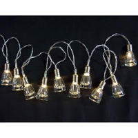 イルミネーション LED グラス ストリングライト 室内用 クリスマス 10球 【LDCM081】CR-98