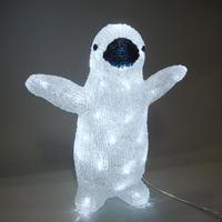 LED イルミネーション ディスプレイ 飾り 照明 ライティング クリスマス  ベイビーペンギン【L3D108】CR-91