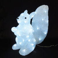 LED イルミネーション ディスプレイ 飾り 照明 ライティング クリスマス  リス【L3D321】CR-90