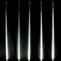 LED イルミネーション 流れ 点滅 ディスプレイ 飾り 照明 ライティング クリスマス ドロップライト 庭 ガーデン 家 白 CR-40(DRL100W2)