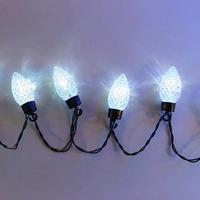 室内用 イルミネーション LED ホワイト ストロベリー ライト 20球 イチゴ 誕生会 パーティ クリスマス プレゼント【 ST20W 】CR-97