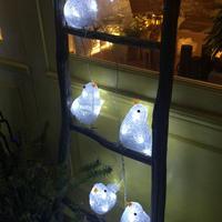 LED イルミネーション ディスプレイ 飾り 照明 ライティング クリスマス   LED 小鳥 ライト 【 L3D368 】 CR-88