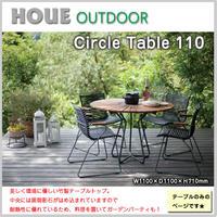 テーブル サークル アウトドア ホウエ 竹製 御影石 ガーデンファニチャー 庭 テラス デッキ 室内外 丸 OO12-238