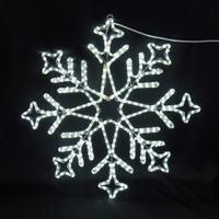 イルミネーション ディスプレイ 飾り 照明 ライティング クリスマス  雪 LEDスノーフレーク 白色【L2DM240】CR-75