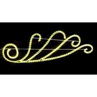 LED イルミネーション ディスプレイ 飾り 照明 ライティング クリスマス ストリートモチーフ ウィング 壁面【L2DM301】CR-72