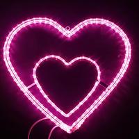LED イルミネーション [ ピンクハート ] ディスプレイ 飾り 照明 ライティング クリスマス 【 L2DM312 】CR-71