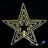 イルミネーション ディスプレイ 飾り 照明 ライティング クリスマス  星 LEDビッグスター電球色【L2DM601D】CR-73