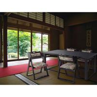 和室 チェア 椅子【Azumaya 東谷】天然木 法事 フォールディングチェア 折りたたみ  全2色 座敷 【 BC-510 】AZ