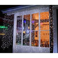 LED イルミネーション 点滅 ディスプレイ 飾り 照明 ライティング クリスマス カーテンライト 白 電球色 庭 ガーデン 家 CR-34 ( LPi720SW / LPi720SD )